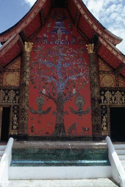 Facade of Pagoda, Luang Prabang (Unesco World Heritage List, 1995), Laos