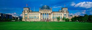 Facade of the Government Building, the Reichstag, Berlin, Germany