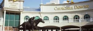 Facade of the Kentucky Derby Museum, Churchill Downs, Louisville, Kentucky, USA