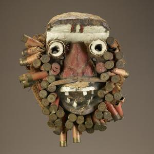 Face Masks Made and Used by the Wee Peoples of Côte d'Ivoire; National Museum of African Art