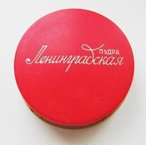 Face powder Leningradskaya, 1970s