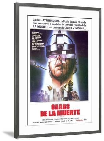 Faces of Death - Spanish Style--Framed Poster