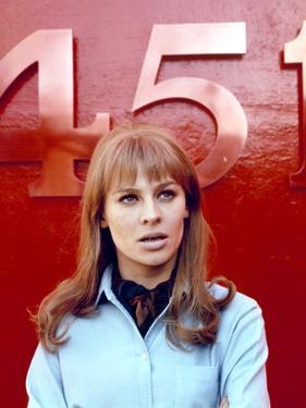 FAHRENHEIT 451, 1966 directed by FRANCOIS TRUFFAUT Julie Christie (photo)