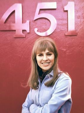 FAHRENHEIT 451, 1966 directed by FRANCOIS TRUFFAUT Julie Christie (photo)