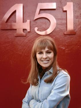 Fahrenheit 451 by Francois Truffaut with Julie Christie, 1966 (photo)