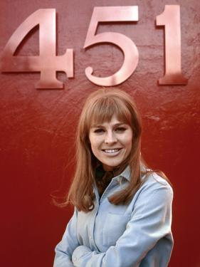Fahrenheit 451 by Francois Truffaut with Julie Christie, 1966 (photo)
