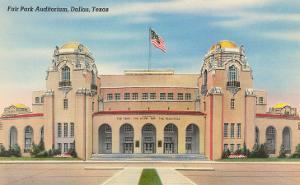 Fair Park Auditorium, Dallas, Texas