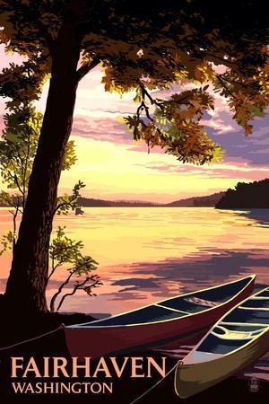 https://imgc.allpostersimages.com/img/posters/fairhaven-washington-canoe-and-lake-at-sunset_u-L-Q1GQOQR0.jpg?p=0