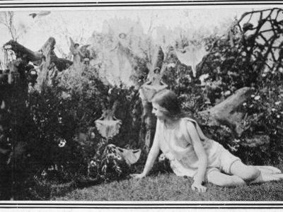 Fairies Photographed in a London Garden during the Summer of 1917