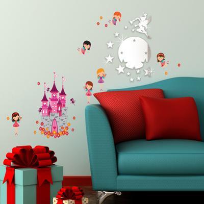 Fairy Mirror Art & Angel Castle