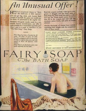 Fairy Soap Advert