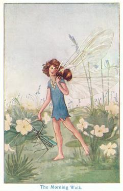Fairy with Bee on Shoulder