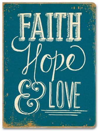 Faith, Hope & Love Deconstructed Journal