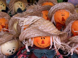 Fall Decorations, Arts and Crafts, Maggie Valley, North Carolina, USA
