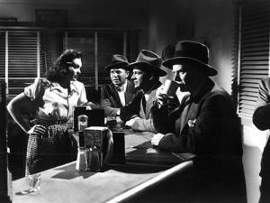 Fallen Angel, Linda Darnell, Bruce Cabot, Dana Andrews, Charles Bickford, 1945