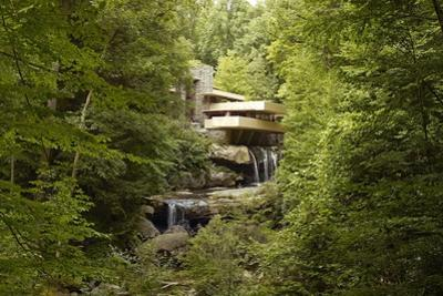 Fallingwater a Modernist House Was Designed by Frank Lloyd Wright in 1934