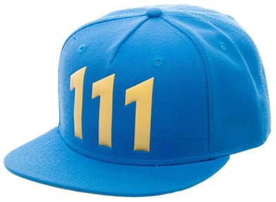 Fallout- 111 Logo Snapback