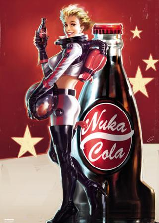 Fallout 4- Nuka Cola Pin Up