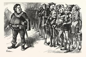 Falstaff Hancock His Ragged Regiment. Falstaff. If I Be Not Ashamed My Soldiers