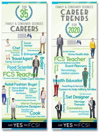 Family & Consumer Sciences Careers Poster Set
