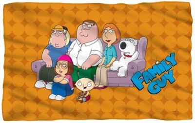 Family Guy - Family Portrait Fleece Blanket