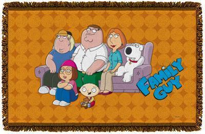 Family Guy - Family Portrait Woven Throw