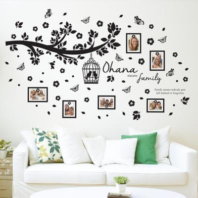 Family Photo Tree with Frame Wall