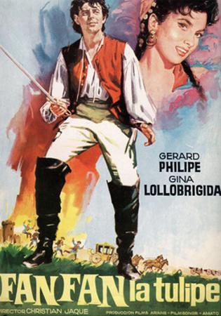 """Fan-fan the Tulip, 1952, """"Fanfan La Tulipe"""" Directed by Christian-jaque"""