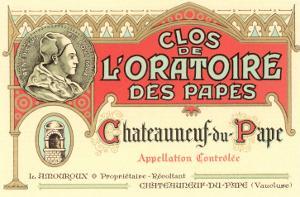 Fancy French Wine Label
