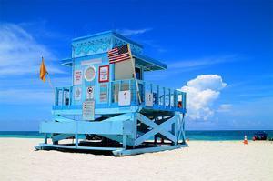 Fancy Lifeguard Hut N. Miami