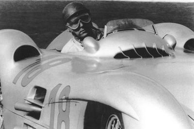 Fangio, French Grand Prix, Rheims, France, 1954