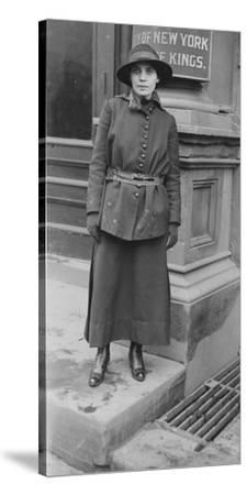 Fania Mindell probably taken during the Bownsville trial, 1917