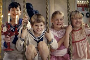 Fanny and Alexander by Ingmar Bergman with Bertil Guve and Pernilla Allwin, 1982 (photo)