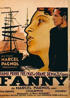 Fanny, from Left: Orane Demazis, Pierre Fresnay, 1932