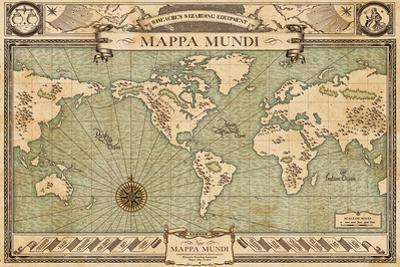 Fantastic Beasts- New Mappa Mundi