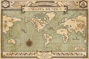 Fantastic Beasts- New Mappa Mundi