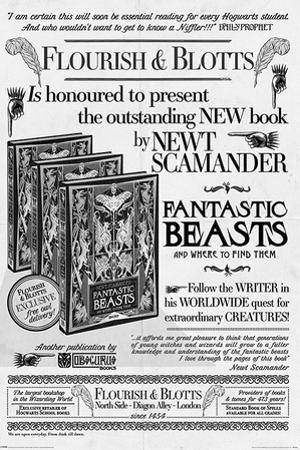 Fantastic Beasts The Crimes Of Grindelwald - Flourish And Blotts