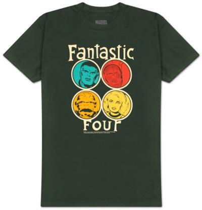 Fantastic Four - Circle Portraits
