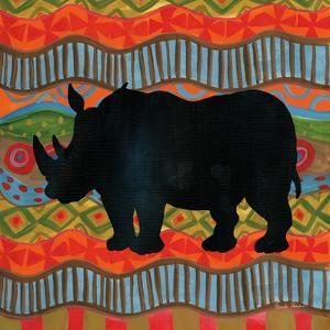 African Animal IV by Farida Zaman