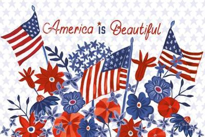 America the Beautiful I by Farida Zaman