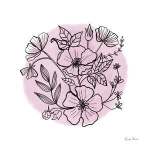 Black and White Botanical III by Farida Zaman