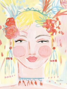 Boho Lady I by Farida Zaman