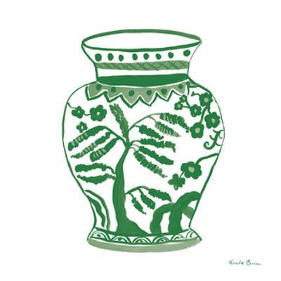Chinoiserie IV Green by Farida Zaman