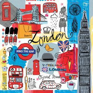 Global Travel III by Farida Zaman