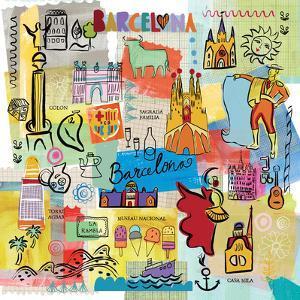 Global Travel IX by Farida Zaman