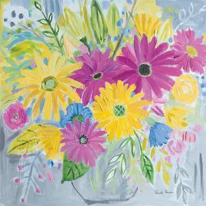 Happy Flowers by Farida Zaman