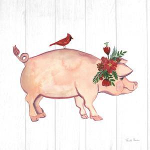 Holiday Farm Animals I by Farida Zaman