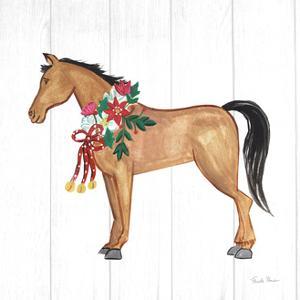Holiday Farm Animals II by Farida Zaman