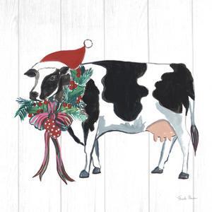 Holiday Farm Animals IV by Farida Zaman