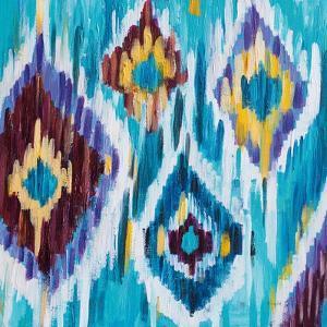 Ikat Jewel III by Farida Zaman